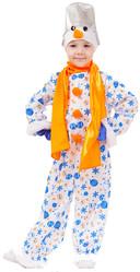Снеговики - Детский костюм Снеговика Снежка