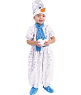 Снеговики - Детский костюм Снеговика в комбинезоне