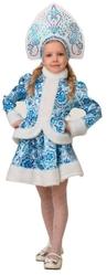 Снегурочки и Снежинки - Детский костюм Снегурочки Гжель