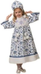 Снегурочки и Снежинки - Детский костюм Снегурочки Ледянки