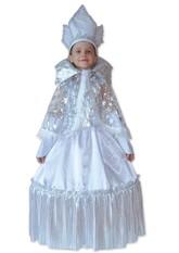 Снегурочки и Снежинки - Детский костюм Снежной Королевы