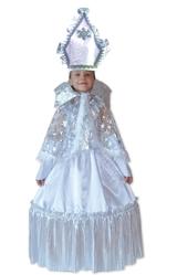 Снежинки - Детский костюм Снежной царицы