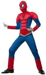 Человек-паук - Детский костюм Спайдермена раздельный