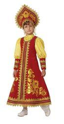 Русские народные - Детский костюм Сударушки