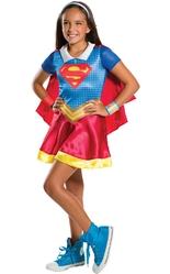 Супергерои и спасатели - Детский костюм Супергерл