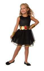Супергерои и спасатели - Детский костюм супергероини Черной Вдовы