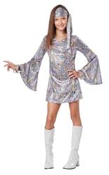 Ретро и Хиппи - Детский костюм Танцовщицы диско