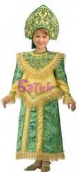 Русские народные - Детский костюм Царевны