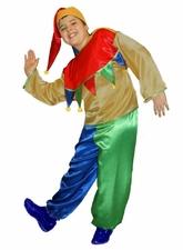 Шуты и скоморохи - Детский костюм Цветного скомороха