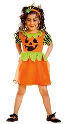 Страшные - Детский костюм тыквы на Хэллоуин