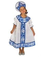 Национальные - Детский костюм в стиле Гжель