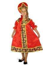 Национальные - Детский костюм в стиле Хохлома