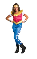 Супергерои и спасатели - Детский костюм Вандер Вумен Dlx