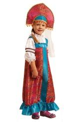 Русские народные - Детский костюм Василисы