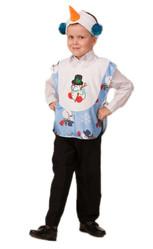 Снеговики - Детский костюм веселого Снеговичка