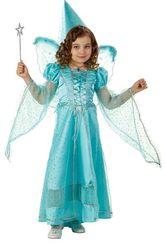 Колдуны и колдуньи - Детский костюм Волшебной Феи голубой