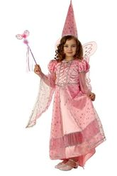 Костюмы для девочек - Детский костюм Волшебной Феи розовый
