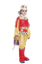 Цари и короли - Детский костюм Юного Красно-золотого короля