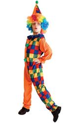 Клоуны - Детский костюм Забавного клоуна