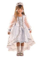 Новогодние костюмы - Детский костюм Загадочной снежинки