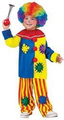 Клоуны - Детский костюм заводного клоуна