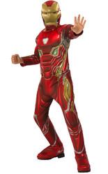 Железный человек - Детский костюм Железного человека супергероя
