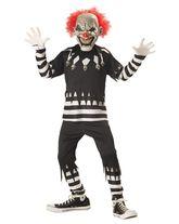 Клоуны - Детский костюм жуткого клоуна