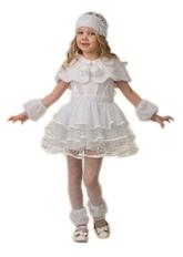 Снегурочки и Снежинки - Детский костюм Зимней Снежинки