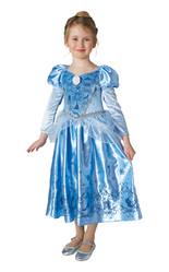 Золушки - Детский костюм Зимней Золушки