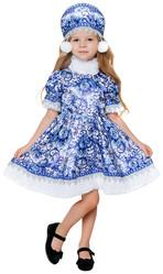 Времена года - Детский костюм Зимушки Гжель
