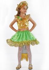 Русалочки - Детский костюм золотистой русалочки