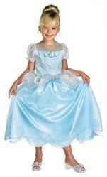 Принцессы и принцы - Детский костюм Золушки на балу