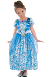 Золушки - Детский костюм Золушки в голубом