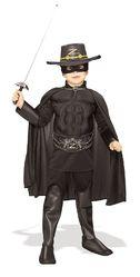 Зорро - Детский костюм Зорро Deluxe