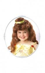 Принцессы - Детский парик Белль