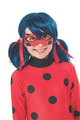 Супергерои и спасатели - Детский парик Леди Баг