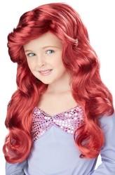 Русалочки - Детский парик русалочки Ариэль
