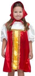 Русские народные - Детский русский плясовой красный костюм