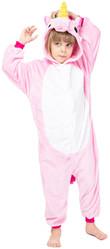 Кигуруми - Детский Светло-розовый Единорог
