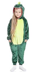 Кигуруми - Детский Зеленый Дракончик
