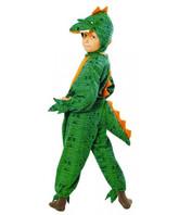 Детский зеленый костюм динозавра