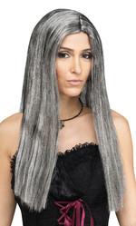 Женские костюмы - Длинный седой парик