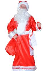 Дед Мороз - Костюм Добрый Дед Мороз