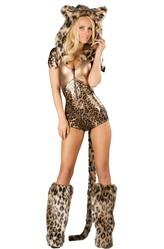 Леопарды и тигры - Костюм Дымчатый леопард