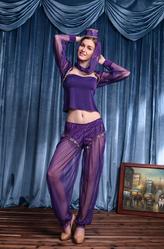 Восточные танцы - Костюм Джин из лампы