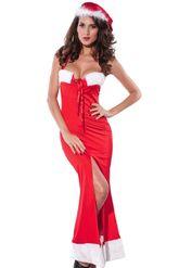 Новогодние костюмы - Элегантное платье санты