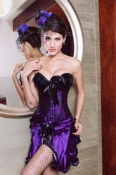 Ретро-костюмы 20-х годов - Костюм Фиолетовая фантазия