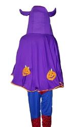 Страшные - Фиолетовая накидка с рожками
