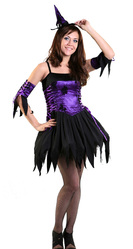 Ведьмы и Дьяволицы - Костюм Фиолетовая ведьма