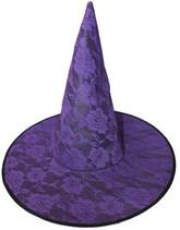 Женские костюмы - Фиолетовый колпак с розами